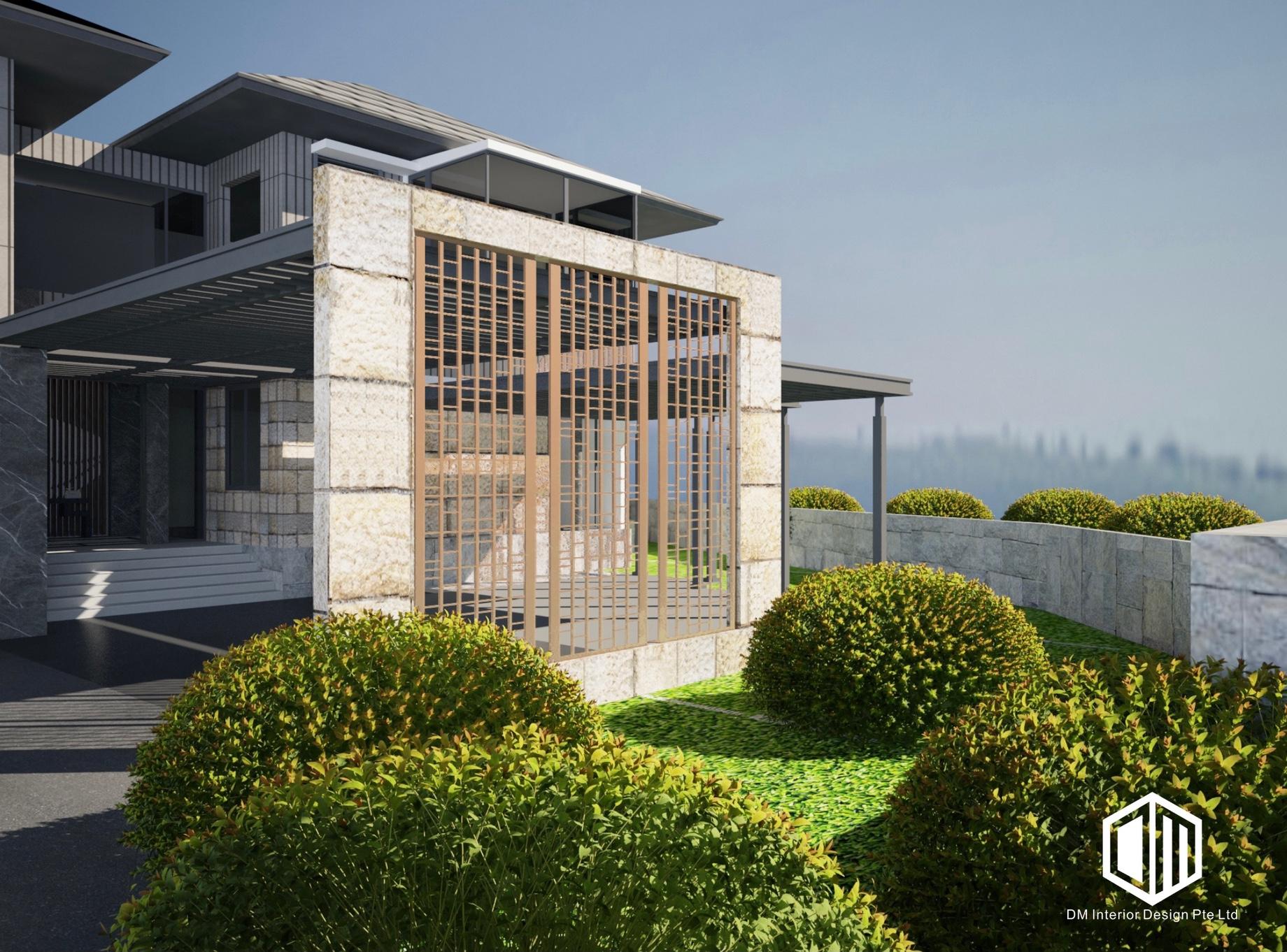 DM Interior Design - The Good Class Bungalow Elite Residential Project - Singapore