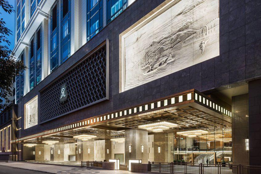 The St. Regis Macao Luxury Hotel - Cotai, Macau SAR, China - Hotel Porte Cochere