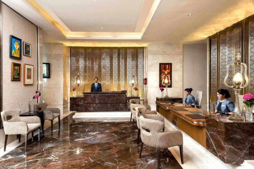 The St. Regis Mumbai Luxury Hotel - Mumbai, India - Lobby Reception