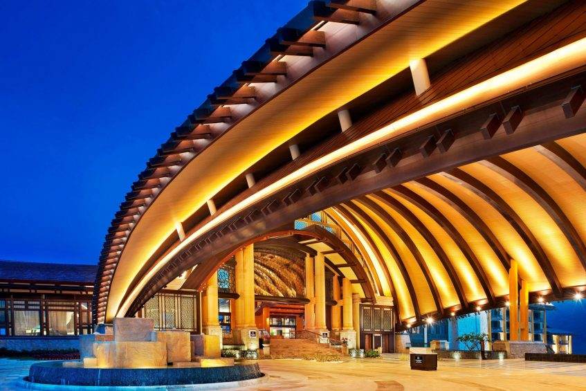 The St. Regis Sanya Yalong Bay Luxury Resort - Hainan, China - Resort Entrance