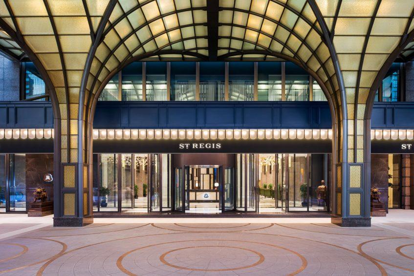 The St. Regis Shanghai Jingan Luxury Hotel - Shanghai, China - Hotel Main Entrance