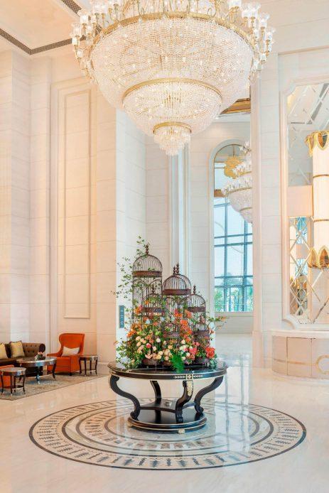 The St. Regis Zhuhai Luxury Hotel - Zhuhai, Guangdong, China - Lobby Entrance