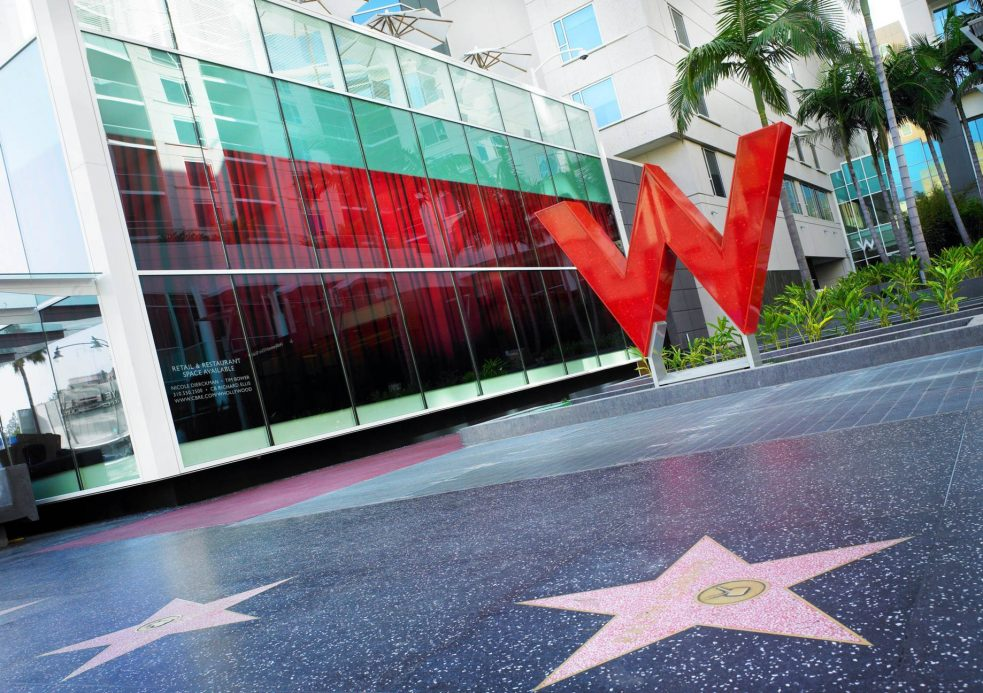 W Hollywood Luxury Hotel - Hollywood, CA, USA - W Hollywood