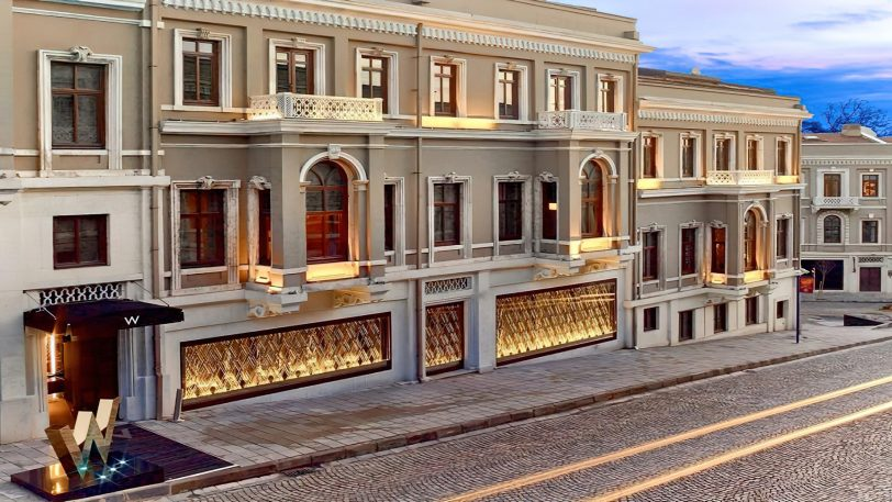 W Istanbul Luxury Hotel - Istanbul, Turkey - Exterior Front Entrance
