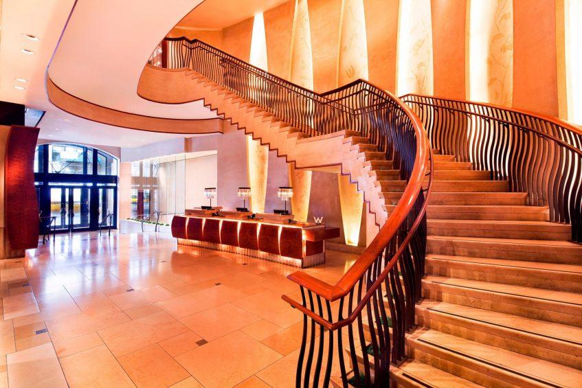 W New York Union Square Luxury Hotel - New York, NY, USA - Lobby Grand Staircase