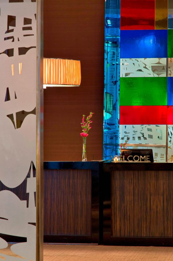 W Santiago Luxury Hotel - Santiago, Chile - Lobby Welcome Desk View