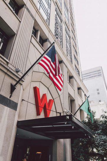 W Seattle Luxury Hotel - Seattle, WA, USA - W Seattle Hotel Entrance