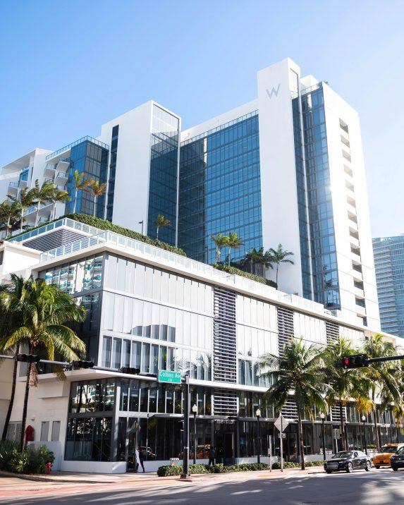 W South Beach Luxury Hotel - Miami Beach, FL, USA - Hotel Street View
