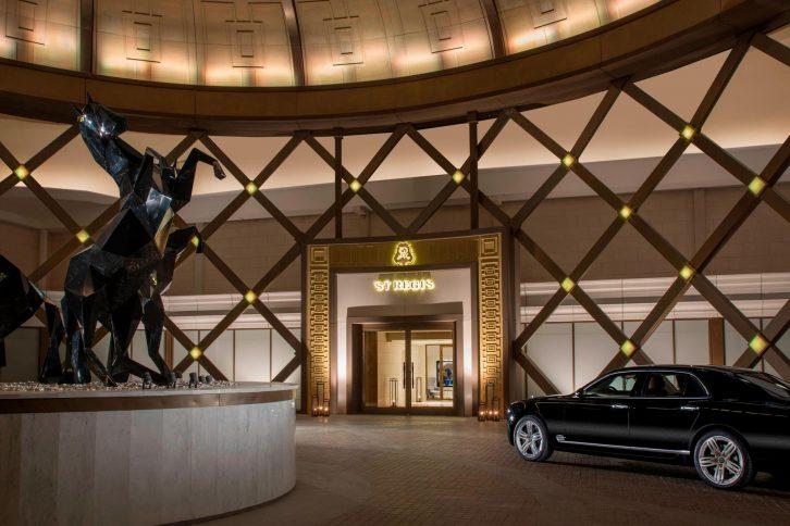 The St. Regis Astana Luxury Hotel - Astana, Kazakhstan - Hotel Arrival