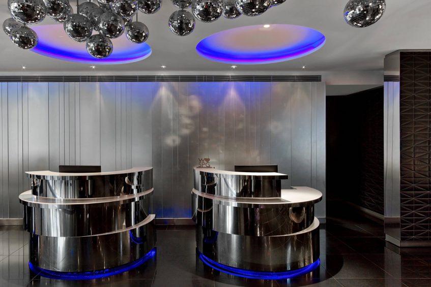W London Luxury Hotel - London, United Kingdom - Lobby Welcome Desk