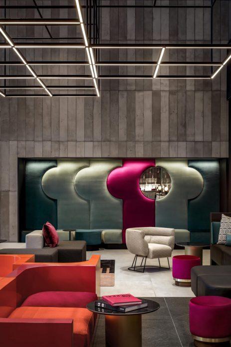 W Montreal Luxury Hotel - Montreal, Quebec, Canada - Living Room Decor