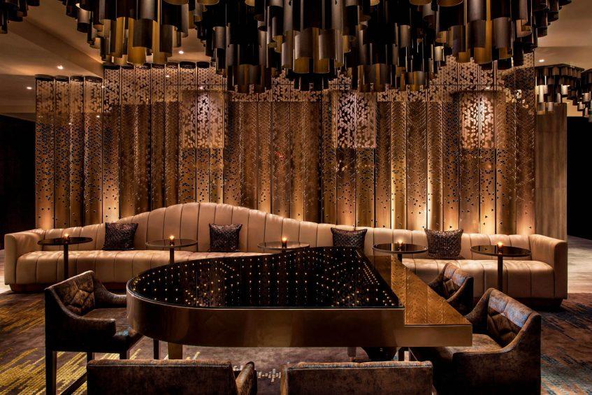 W New York Times Square Luxury Hotel - New York, NY, USA - Piano Bar