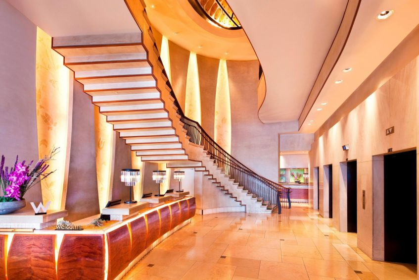 W New York Union Square Luxury Hotel - New York, NY, USA - Lobby