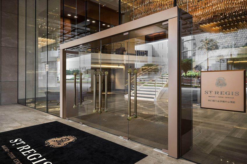 The St. Regis Macao Luxury Hotel - Cotai, Macau SAR, China - Hotel Entrance Doors