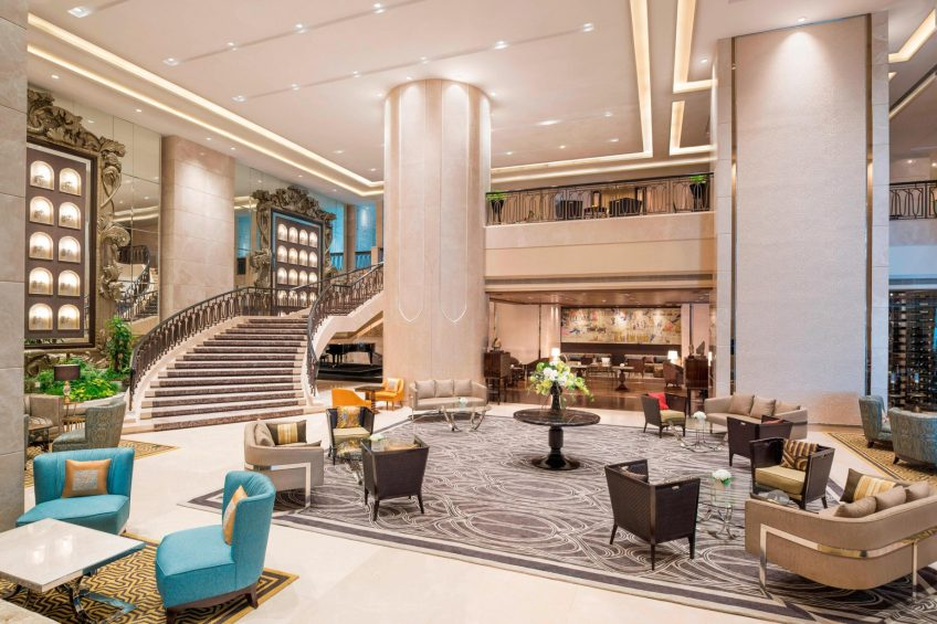 The St. Regis Mumbai Luxury Hotel - Mumbai, India - The Great Hall and The Drawing Room