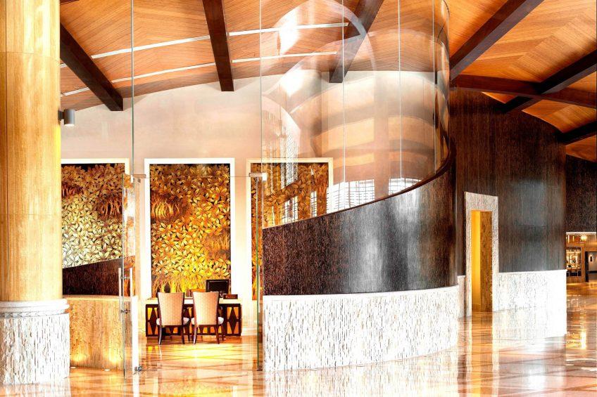 The St. Regis Sanya Yalong Bay Luxury Resort - Hainan, China - Lobby Reception