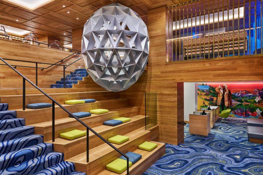 W Aspen Luxury Hotel - Aspen, CO, USA - Lobby The Mine Shaft