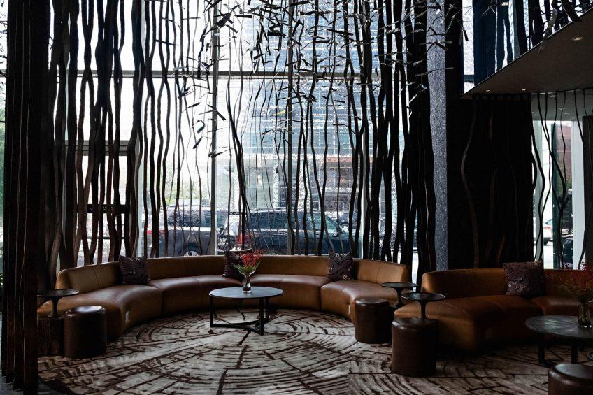W Atlanta Downtown Luxury Hotel - Atlanta, Georgia, USA - Living Room Seating
