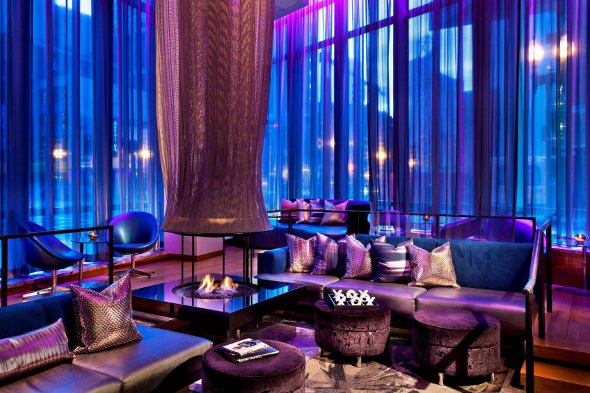 W Boston Luxury Hotel - Boston, MA, USA - W Lounge