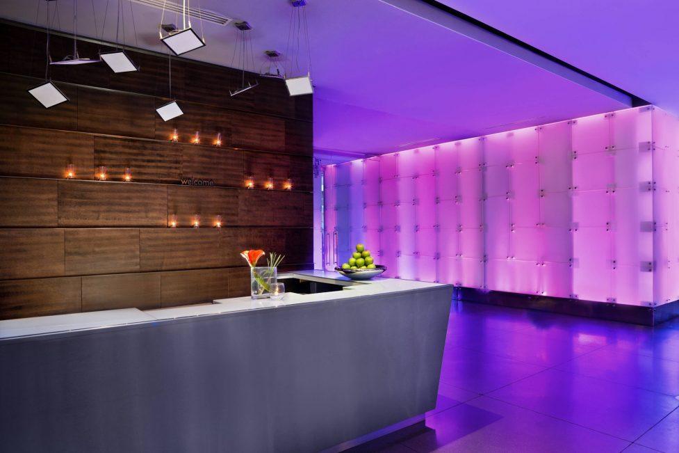 W Dallas Victory Luxury Hotel - Dallas, TX, USA - Lobby Reception Desk
