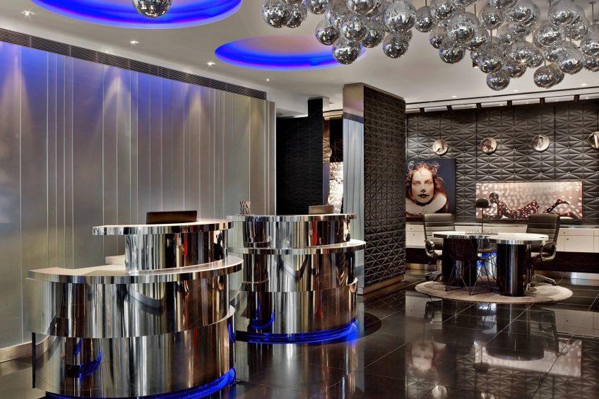 W London Luxury Hotel - London, United Kingdom - Lobby Concierge Desk