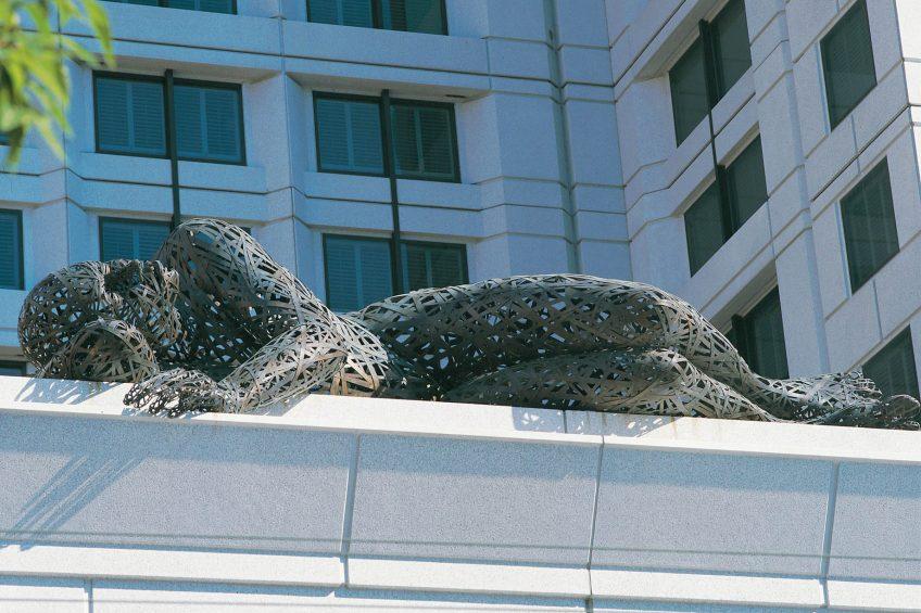 W San Francisco Luxury Hotel - San Francisco, CA, USA - Pneumatic Dreamer Sculpture