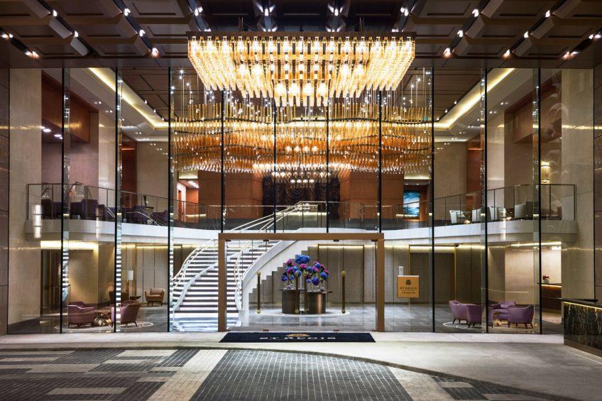 The St. Regis Macao Luxury Hotel - Cotai, Macau SAR, China - Hotel Entrance