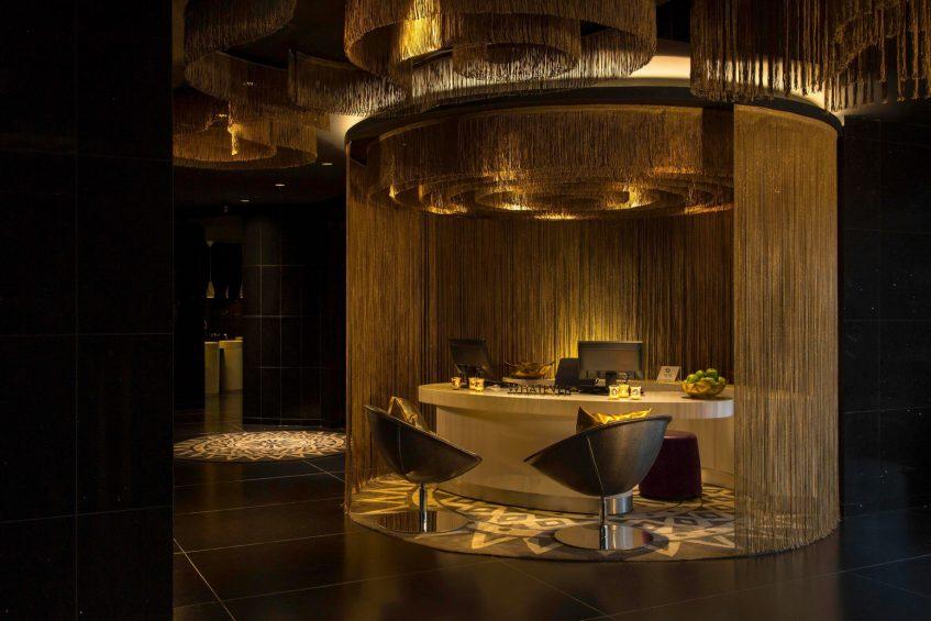 W Bogota Luxury Hotel - Bogota, Colombia - Lobby Concierge Desk