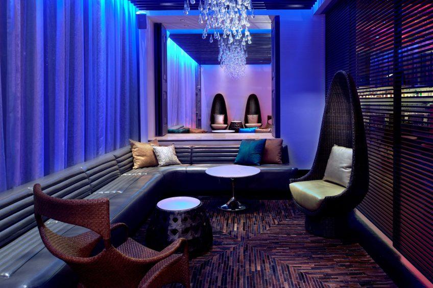 W Los Angeles West Beverly Hills Luxury Hotel - Los Angeles, CA, USA - Living Room Bar