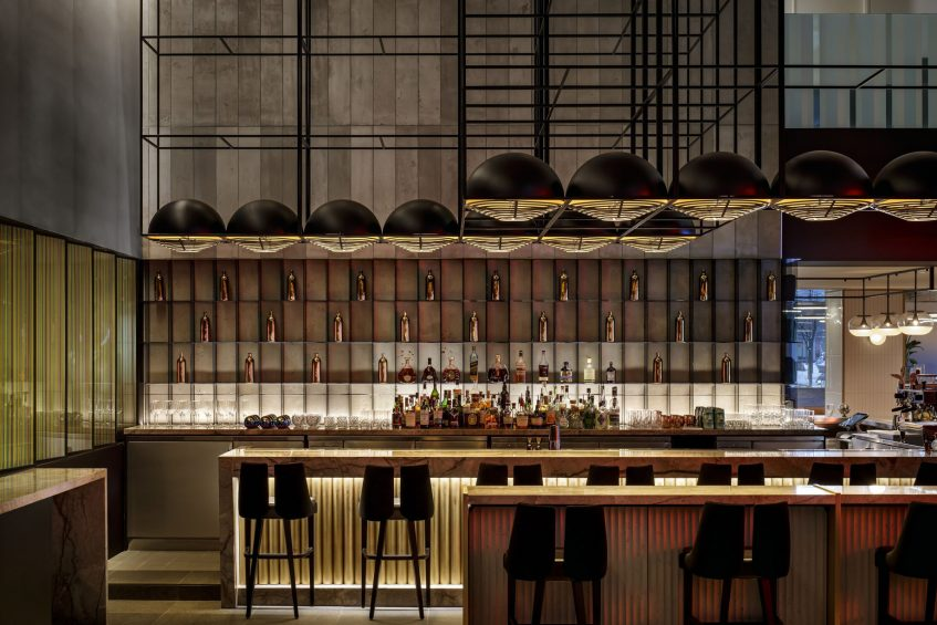 W Montreal Luxury Hotel - Montreal, Quebec, Canada - Living Room Bar