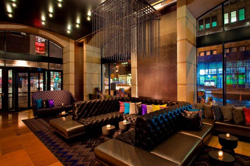 W New York Union Square Luxury Hotel - New York, NY, USA - The Living Room