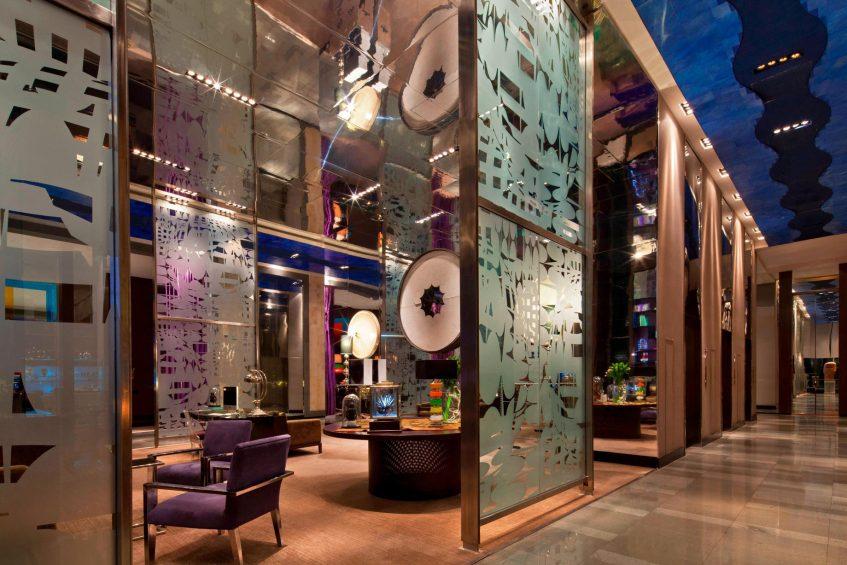 W Santiago Luxury Hotel - Santiago, Chile - Tea Library Interior
