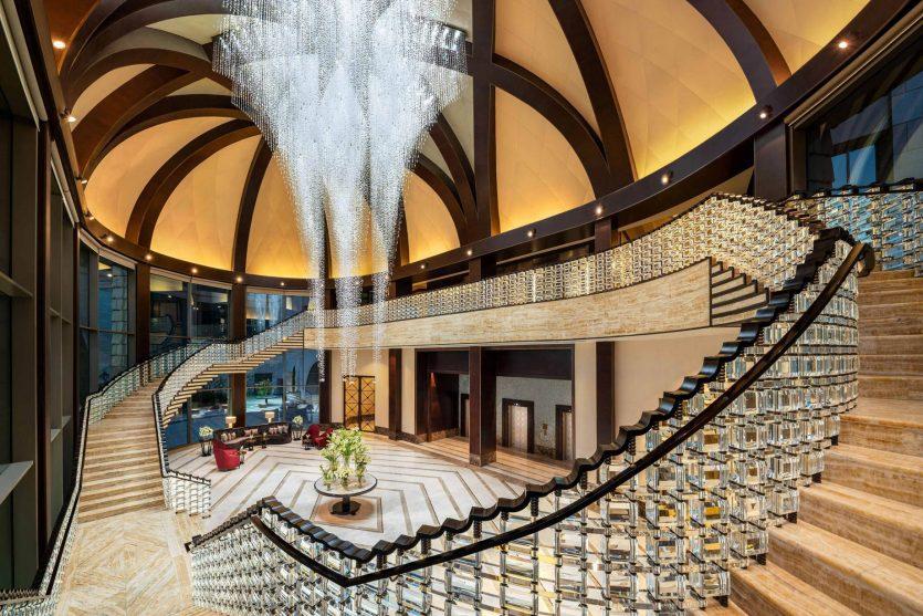 The St. Regis Cairo Luxury Hotel - Cairo, Egypt - Lobby Crystal Hall