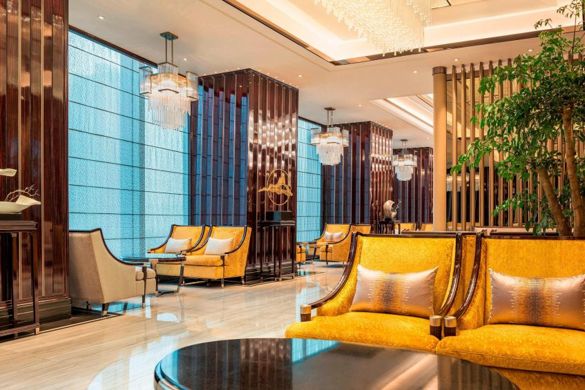 The St. Regis Changsha Luxury Hotel - Changsha, China - Tea Lounge Seating