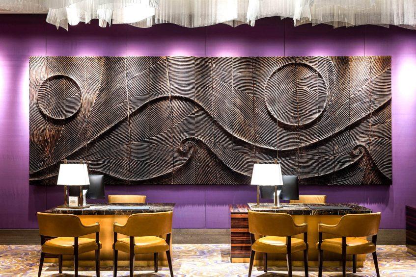 The St. Regis Macao Luxury Hotel - Cotai, Macau SAR, China - Lobby Reception