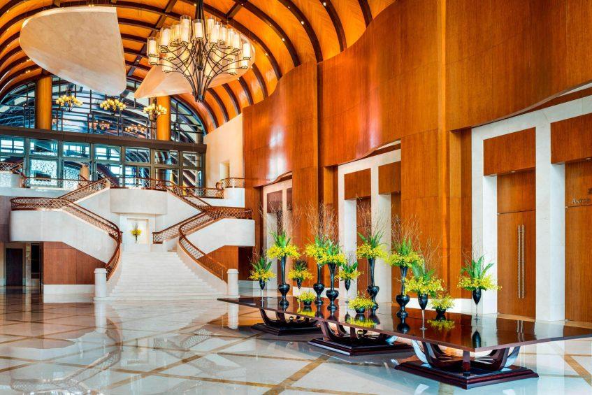 The St. Regis Sanya Yalong Bay Luxury Resort - Hainan, China - Grand Staircase View