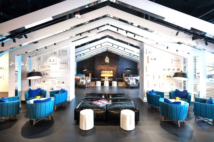W Bellevue Luxury Hotel - Bellevue, WA, USA - Living Room