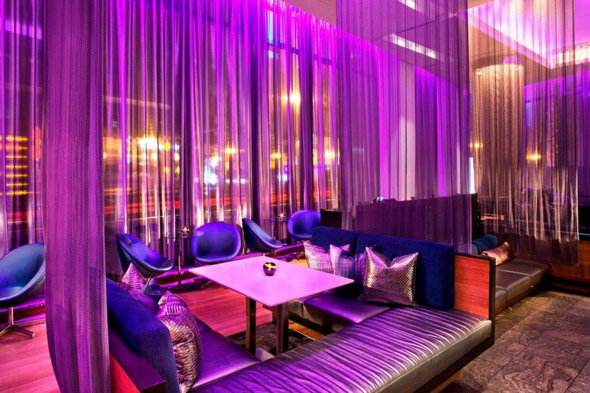 W Boston Luxury Hotel - Boston, MA, USA - W Lounge Seating