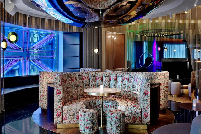 W London Luxury Hotel - London, United Kingdom - The Perception Bar Colour Me Bad