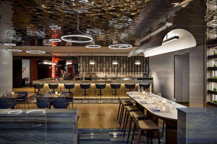 W Montreal Luxury Hotel - Montreal, Quebec, Canada - TBSP Decor