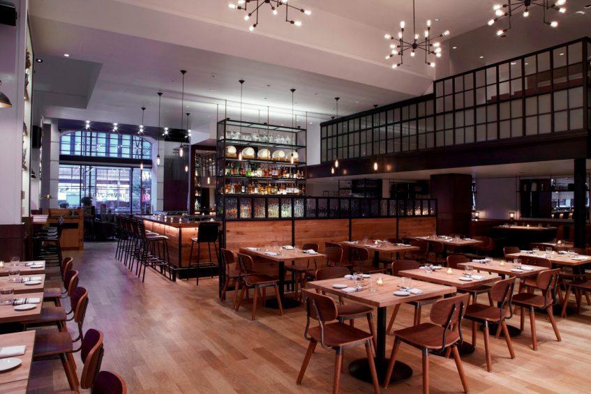 W New York Union Square Luxury Hotel - New York, NY, USA - Irvington Bar and Restaurant