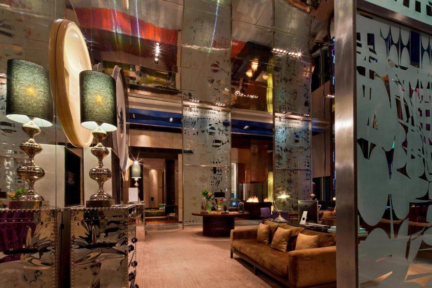W Santiago Luxury Hotel - Santiago, Chile - Tea Library