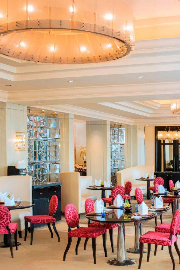 The St. Regis Beijing Luxury Hotel - Beijing, China - Garden Court Dining Area