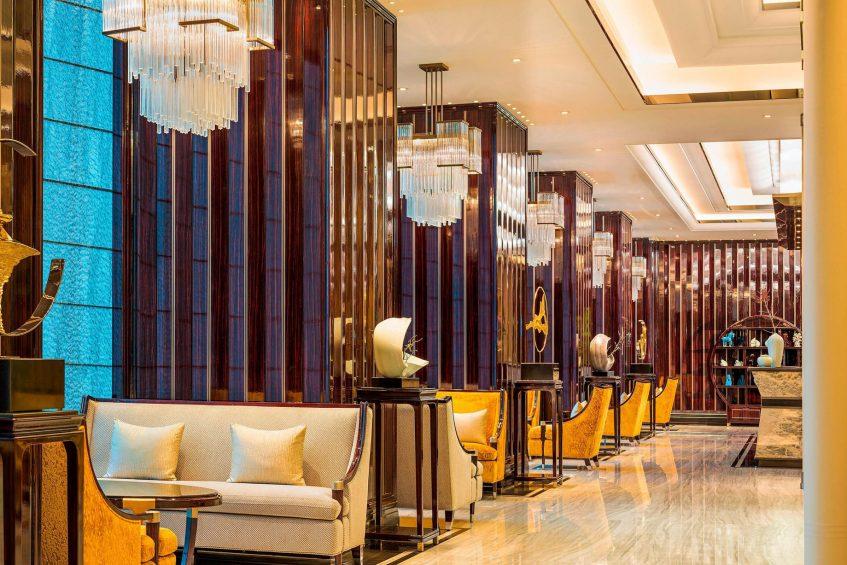 The St. Regis Changsha Luxury Hotel - Changsha, China - Tea Lounge