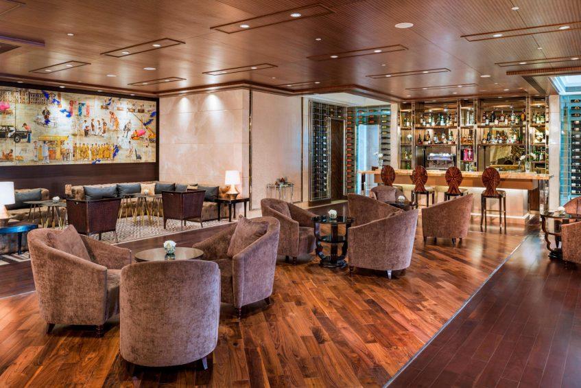 The St. Regis Mumbai Luxury Hotel - Mumbai, India - The St Regis Bar