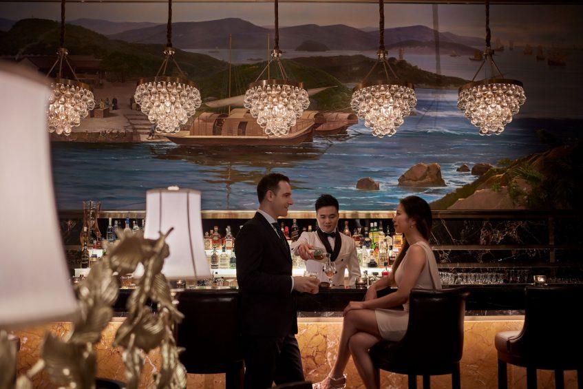 The St. Regis Zhuhai Luxury Hotel - Zhuhai, Guangdong, China - Bar Experience