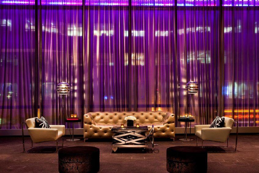 W Boston Luxury Hotel - Boston, MA, USA - Pre Function Area