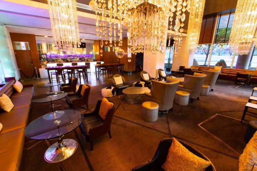 W Dallas Victory Luxury Hotel - Dallas, TX, USA - The Living Room
