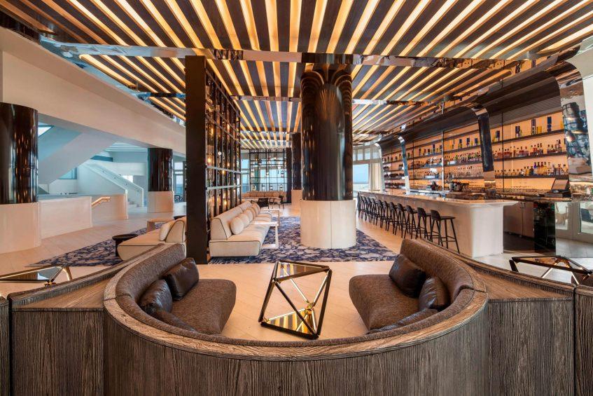 W Fort Lauderdale Luxury Hotel - Fort Lauderdale, FL, USA - Living Room Bar