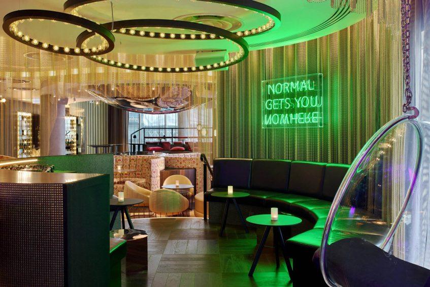 W London Luxury Hotel - London, United Kingdom - The Perception Bar DJ Booth